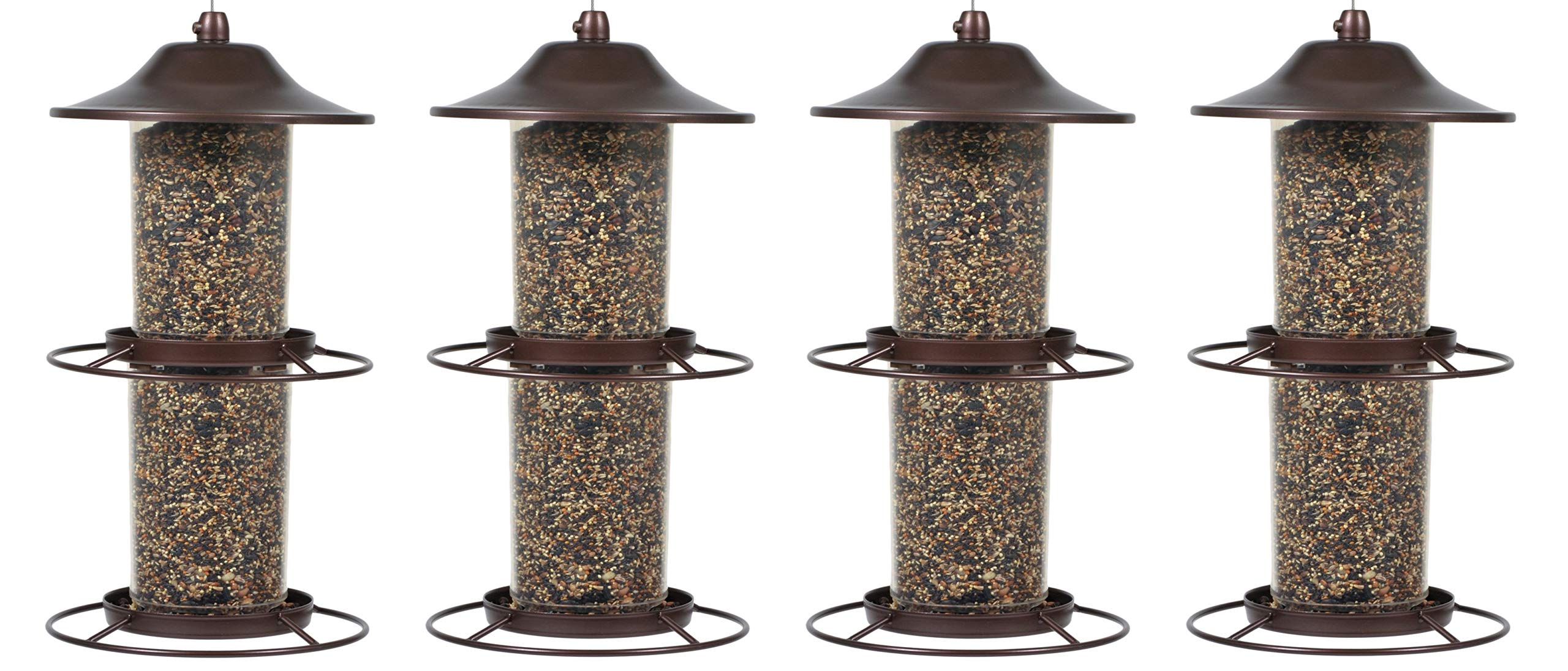 Perky-Pet 325S Panorama Bird Feeder (Pack of 4)