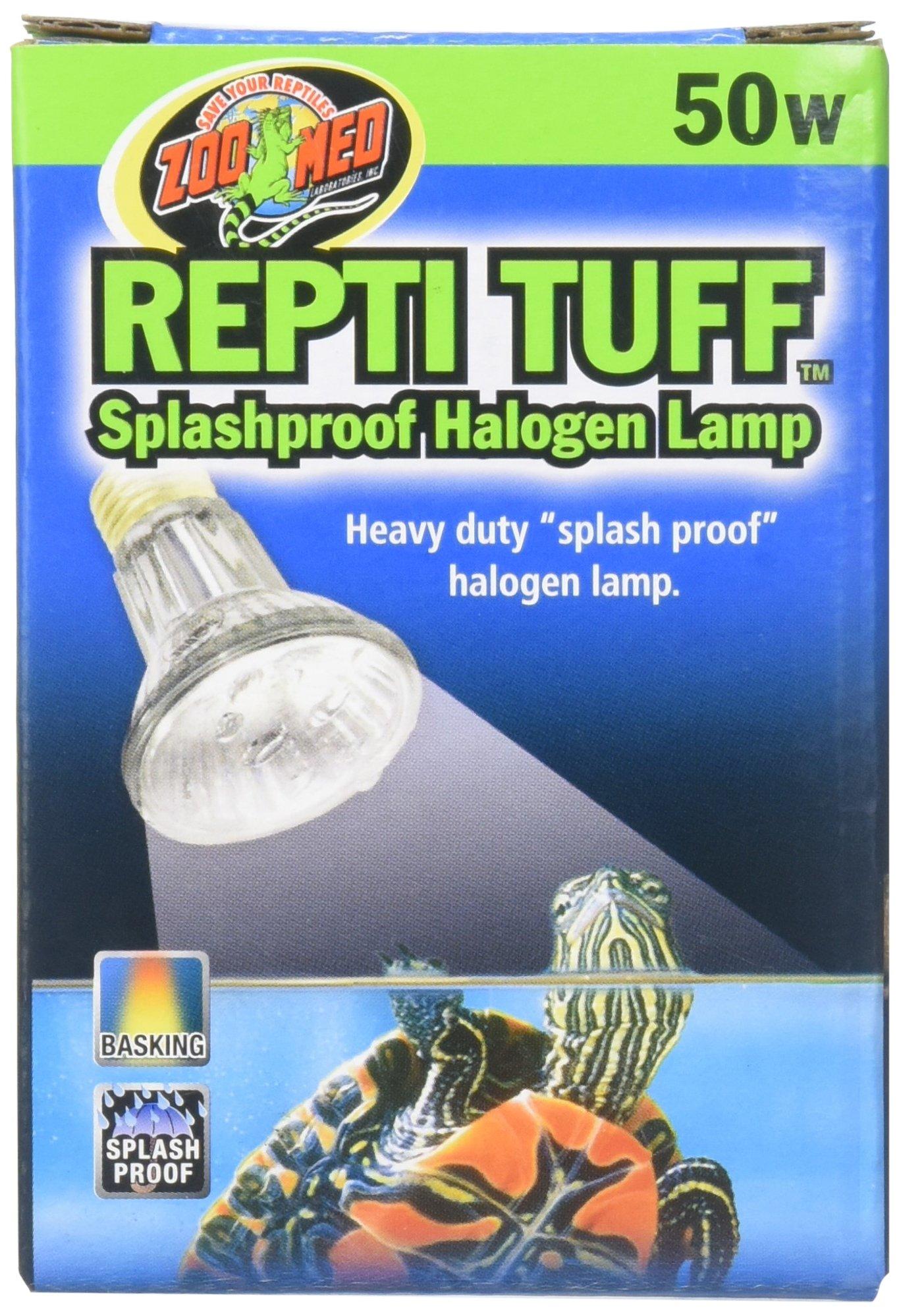 Zoo Med Turtles Heavy Duty Halogen Lamp Size: Small (0.28'' H x 0.21'' W x 0.21'' L)