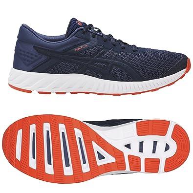 ASICS Herren Fuzex Sneaker, Blau, UK
