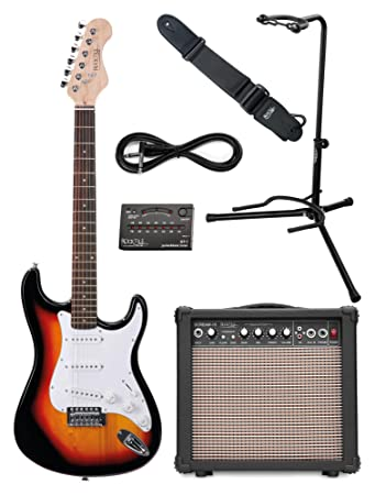 Rocktile Sphere Classic Sunburst E-Gitarre Set (E-Gitarre in ST ...