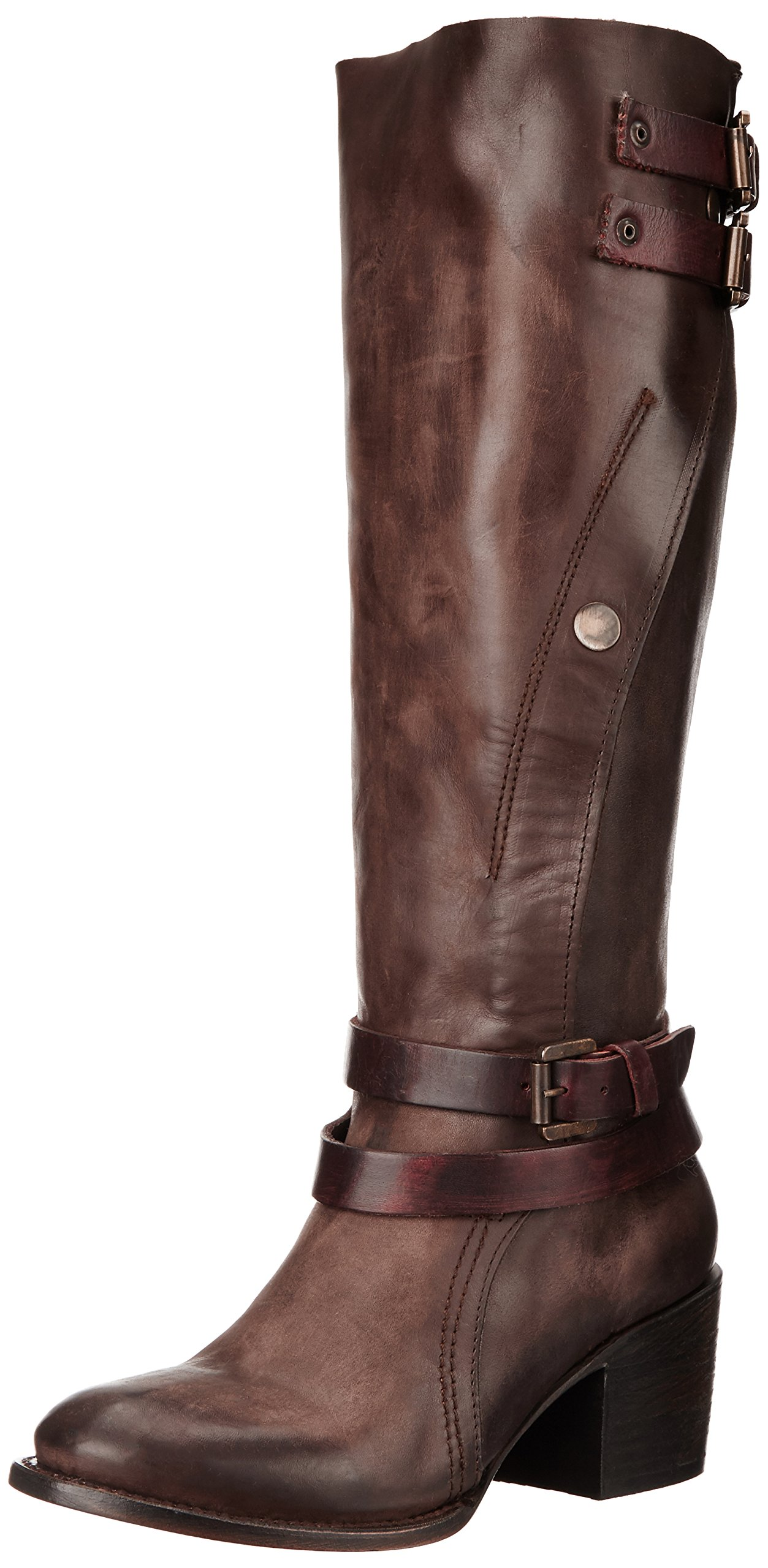 Freebird Women's CLIVE Boot, Brown Multi, 7 M US