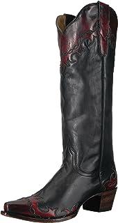 140b8ad42e8 Amazon.com | Stetson Women's Flora Riding Boot | Knee-High