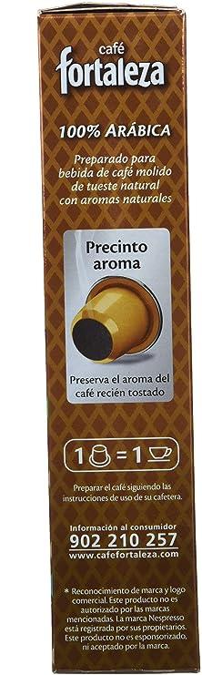 Nespresso compatible - Café Fortaleza Aroma Toffee - 10 cápsulas [Pack de 4]: Amazon.es: Alimentación y bebidas