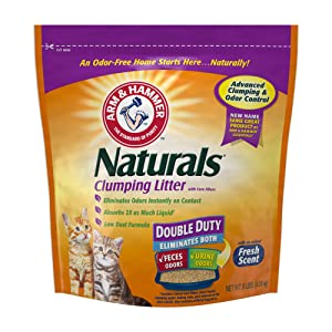 Arm & Hammer Naturals, Double Duty Litter, 9lb