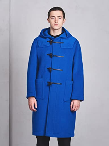 Duffle Coat 1125-343-6720: Cobalt Blue