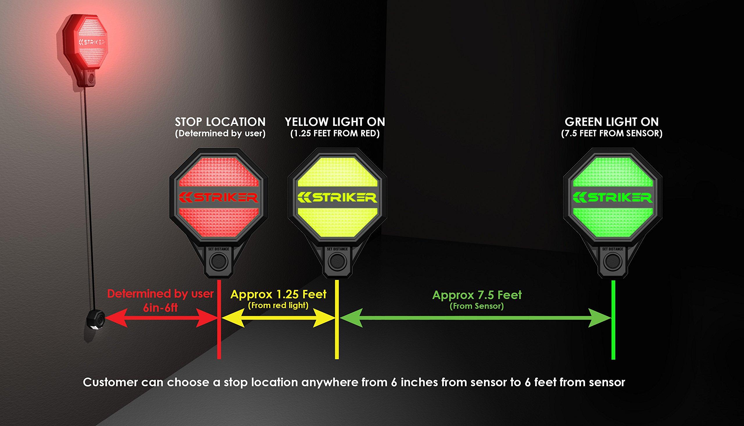 Striker Adjustable Garage Parking Sensor - Parking Aid by Striker Concepts (Image #6)