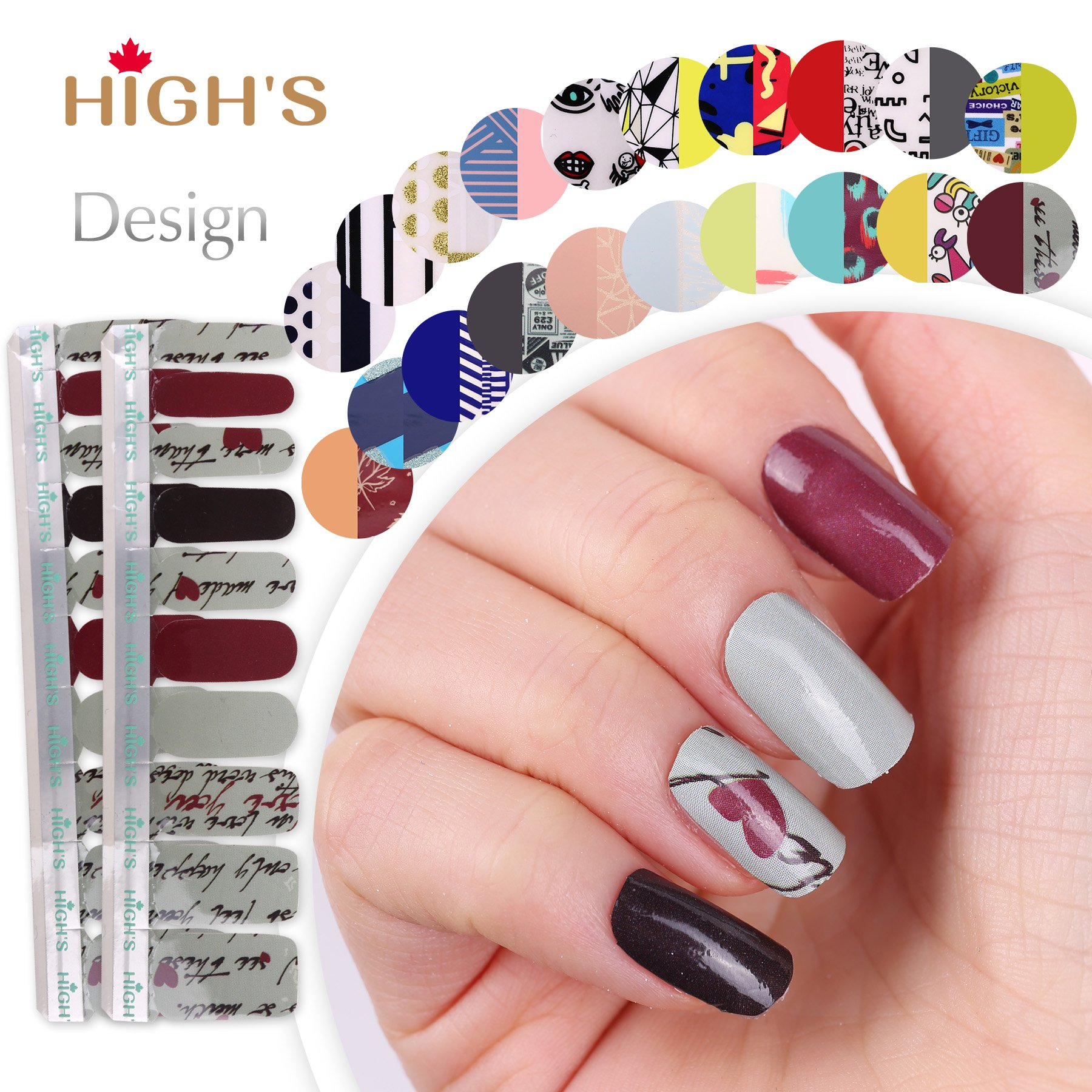 Best Rated In Nail Art Wraps Helpful Customer Reviews Amazon