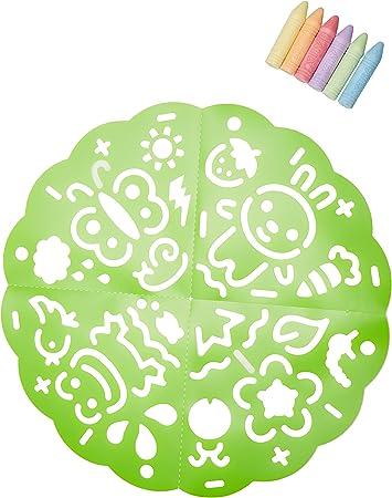 Amazon Com Alex Toys Artist Studio Sidewalk Mandala Garden Toys