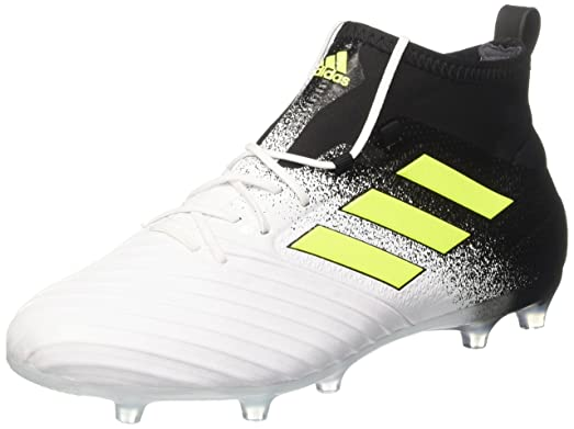 adidas Ace 17.2 FG, Chaussures de Football Entrainement Homme, Blanc  (Footwear White/