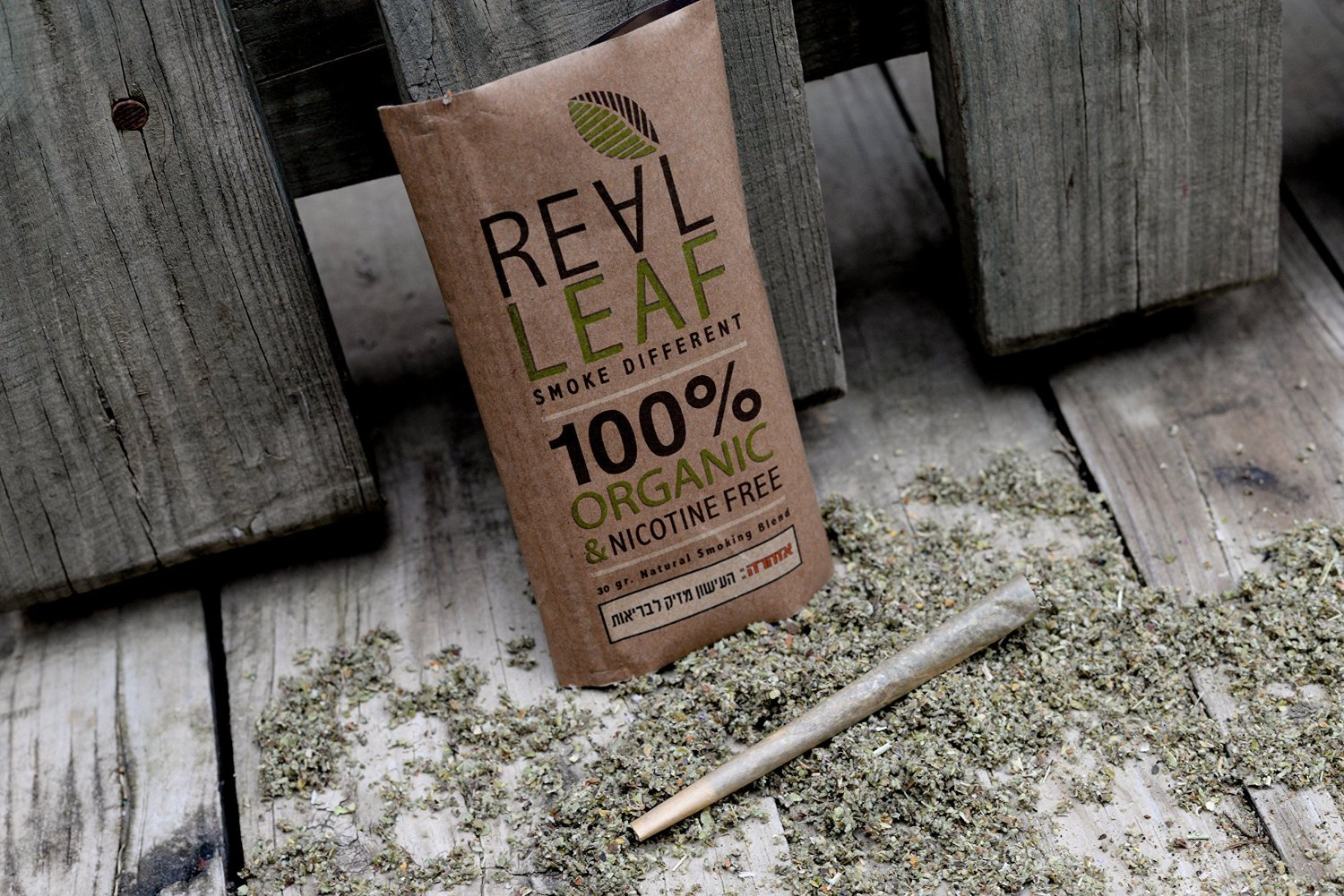 Organic Herbal Natural Smoking Mixture 30g 100% Nicotine & Tobacco Free, Rich, Aromatic, Delicate Aroma and Smooth natural taste Real Leaf Substitute