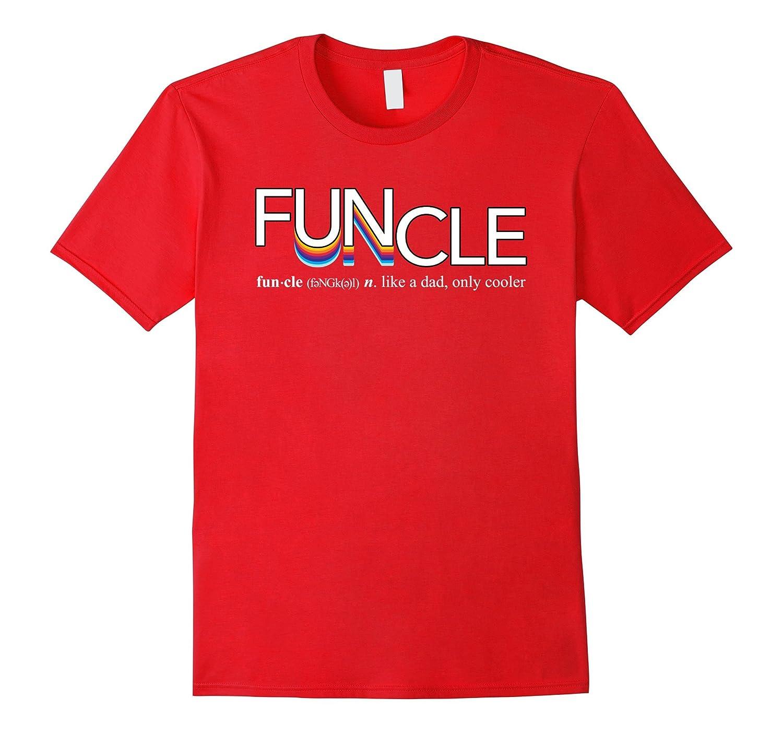 Mens Fun Uncle Funcle Definition T-Shirt-T-Shirt