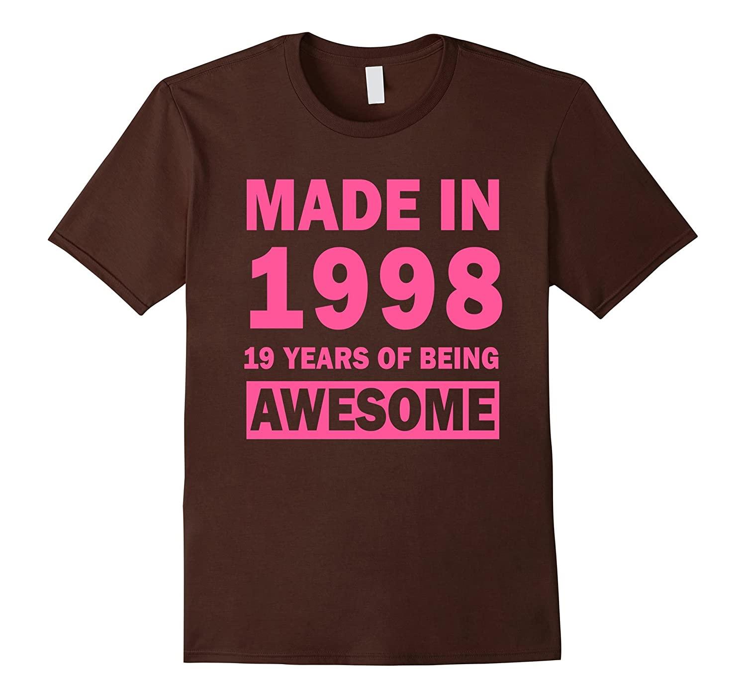 made in 1998 19 years old 19th birthday gift ideas for her th teehelen