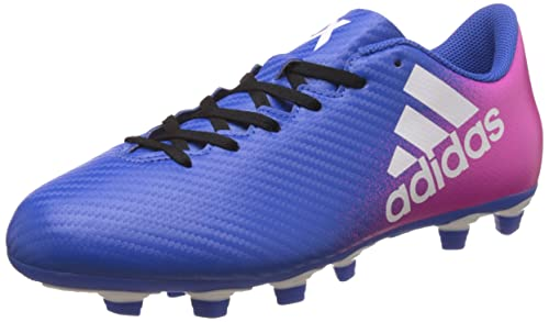 size 40 64900 495ce adidas Men s X 16.4 FxG Football Boots, (Blue FTWR White Shock Pink