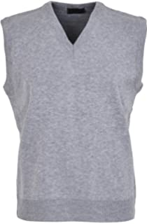 6e19d460304b30 Maan Store Mens V Neck Knitted Tank Top Slipover Sweater Sleeveless Jumper  Small to 6XL