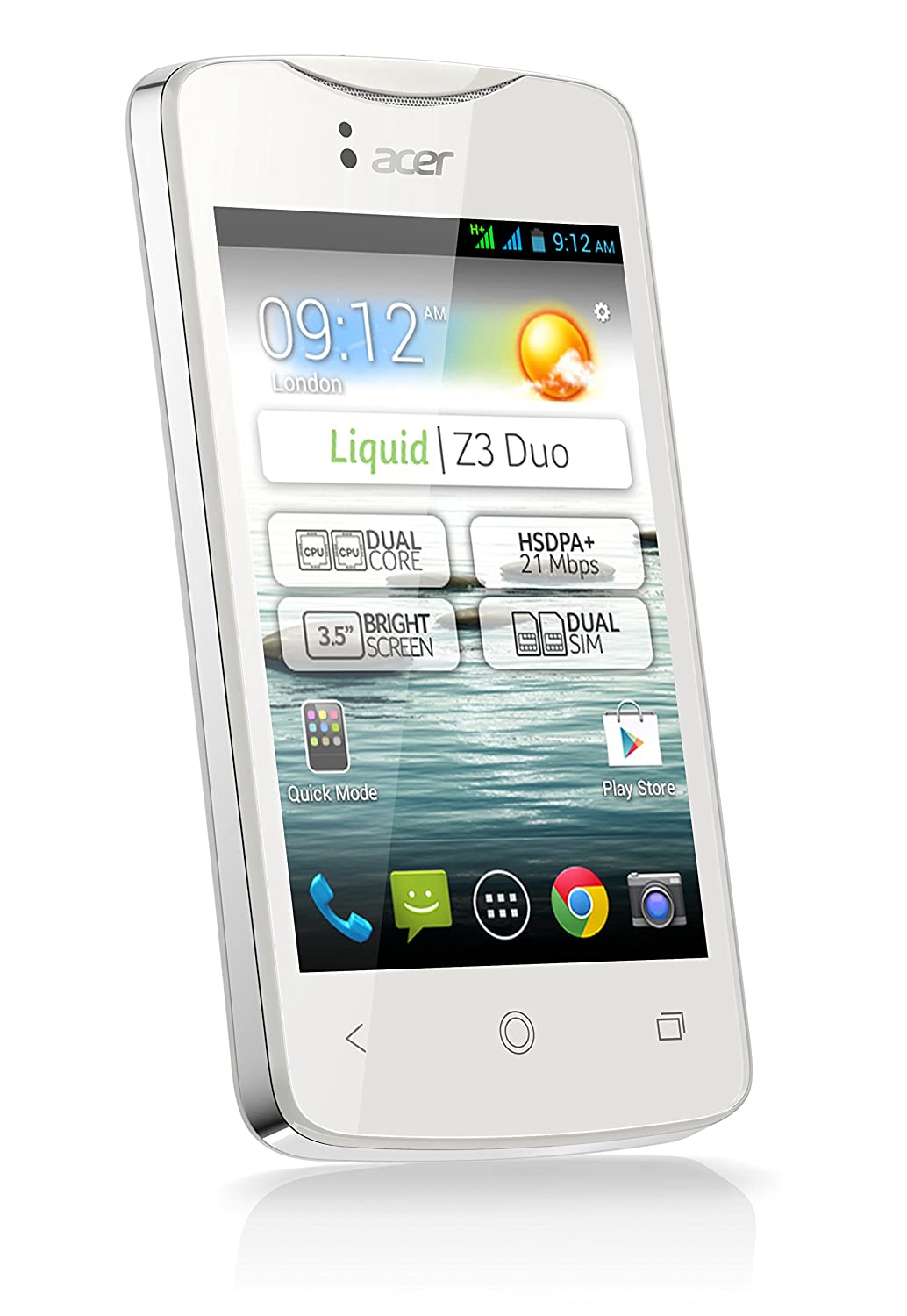 Acer Liquid Z3 Duo - Smartphone (3,5/8,9 cm, USB, Android 4.2 ...