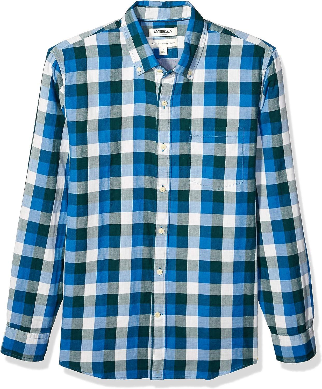 Amazon Brand - Goodthreads Men's Long-Sleeve Doubleface Shirt