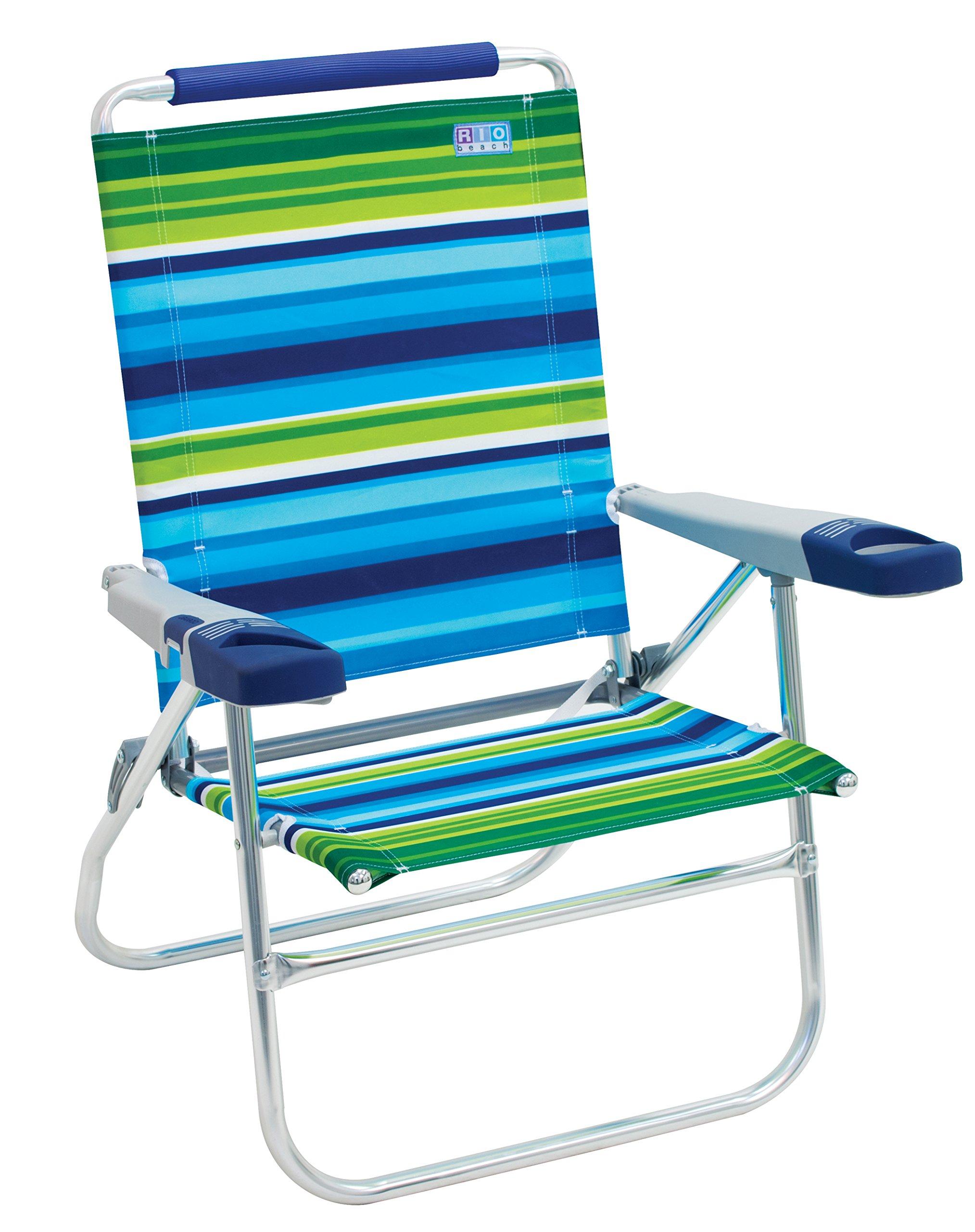 Rio Beach 15-Inch Tall Folding Beach Chair