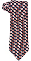 ST GEORGE DAY MEN'S 100% SILK SUPERB QUALITY NOVELTY TIE(Square one)