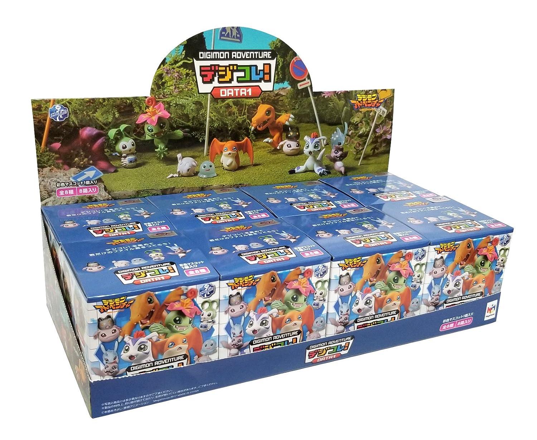 Random Blind Box Set of 8 JBK International 1644-FullBox MegaHouse Digimon Adventure Data 1 Action Figures