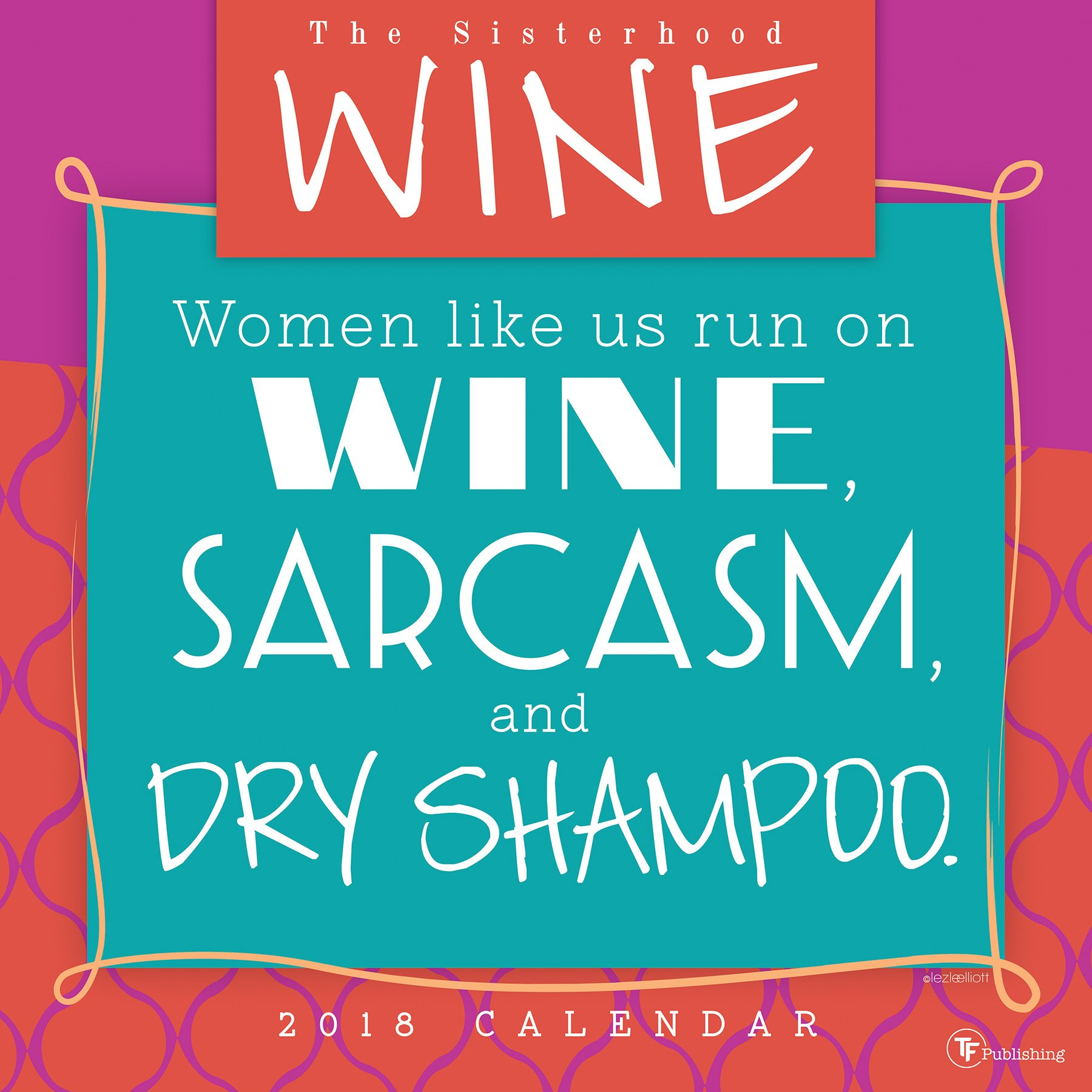 2018 Wine Wall Calendar pdf