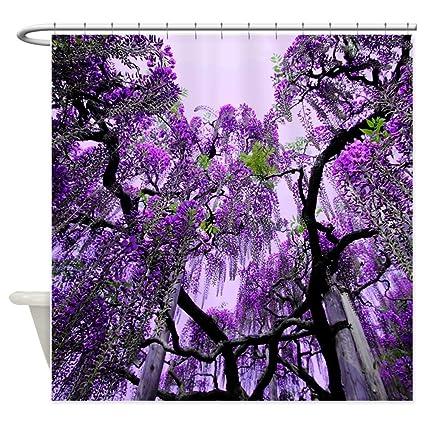 Amazon CafePress Wisteria Decorative Fabric Shower Curtain 69