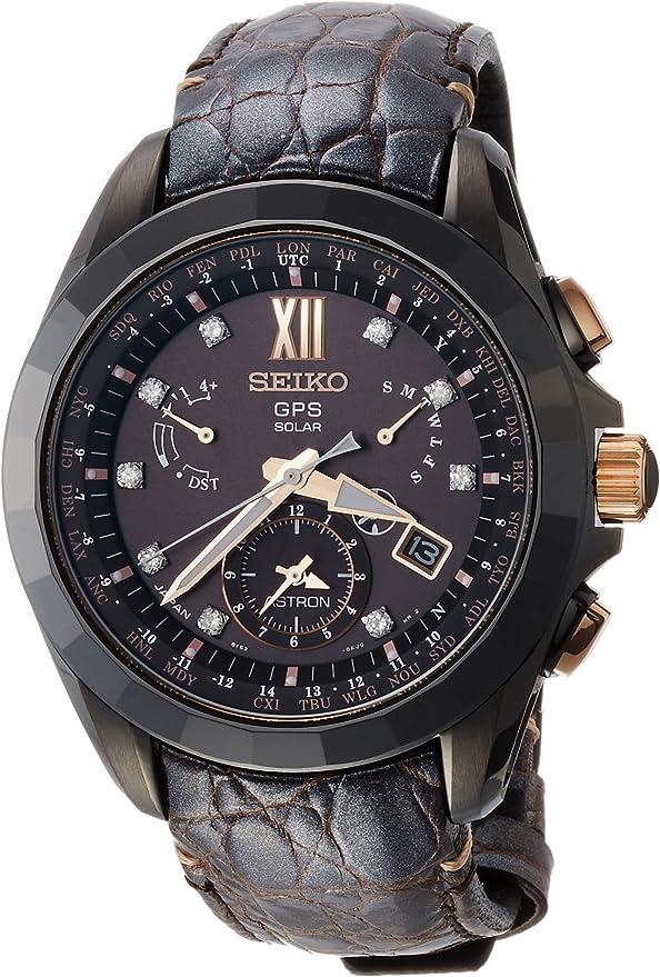 [セイコーウォッチ] 腕時計 アストロン クオーツ ASTRON GPSソーラー SBXB083 ブラウン