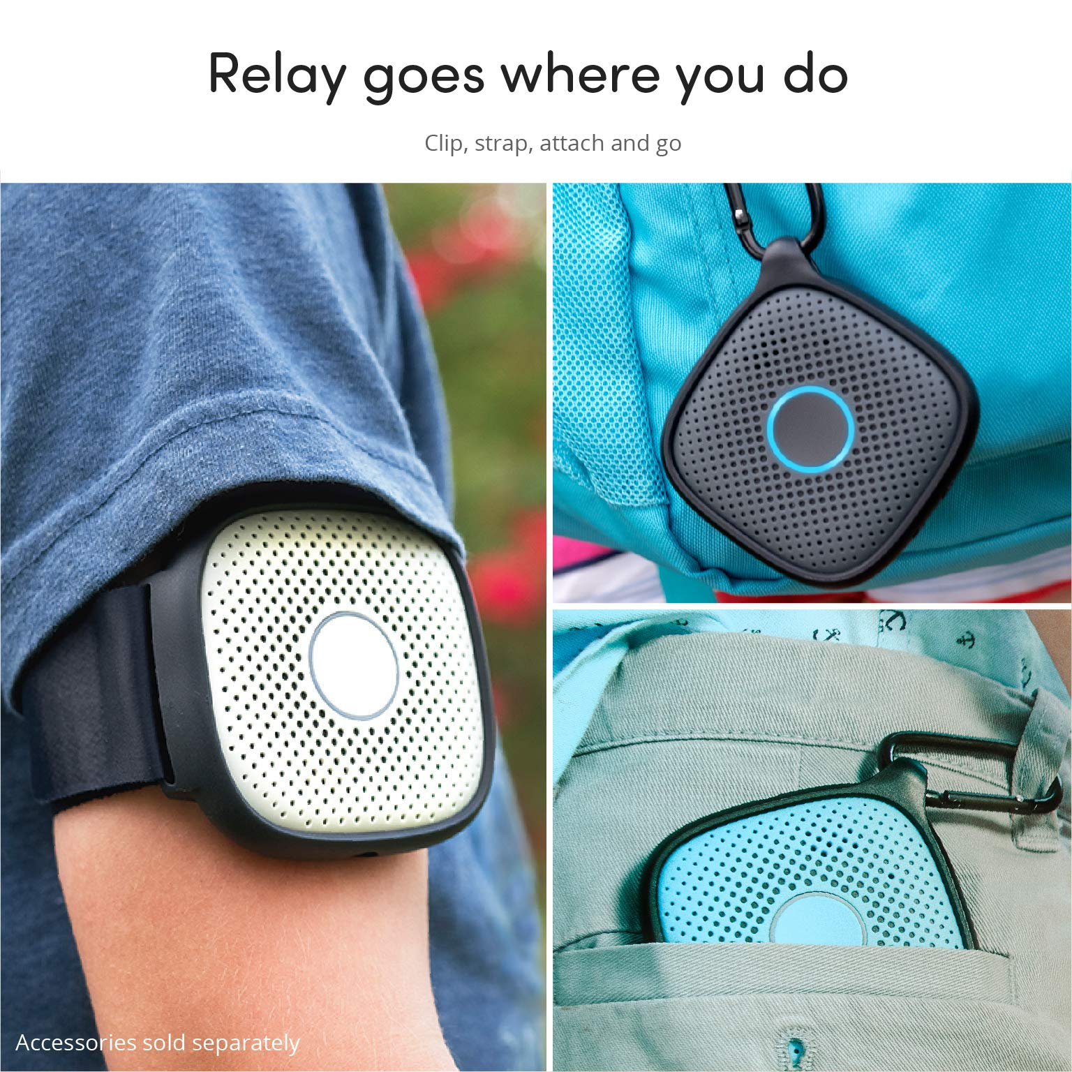 Relay Kids Phone Alternative: A Screen-Free Smarter Phone with 4G LTE Nationwide Range, Walkie Talkie Ease, and a GPS Tracker fo by Relay (Image #6)