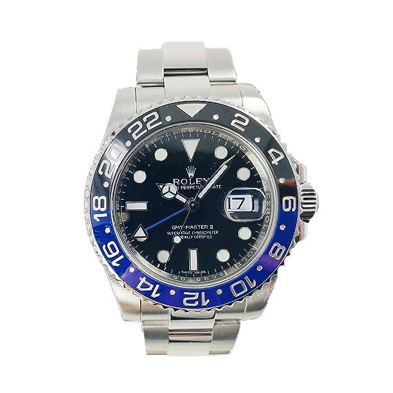 Gmt Negro 116710 Rolex Ii Dial 40 Master Para Mm Watch Hombre 27 txsChQdr
