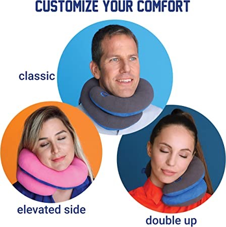 Best travel pillow for head bobbers - Bcozzy travel pillow