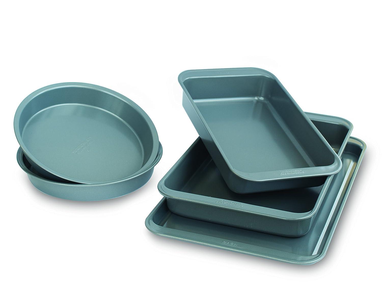 Silver Nordic Ware 23006 Baking Essentials Bakeware Set