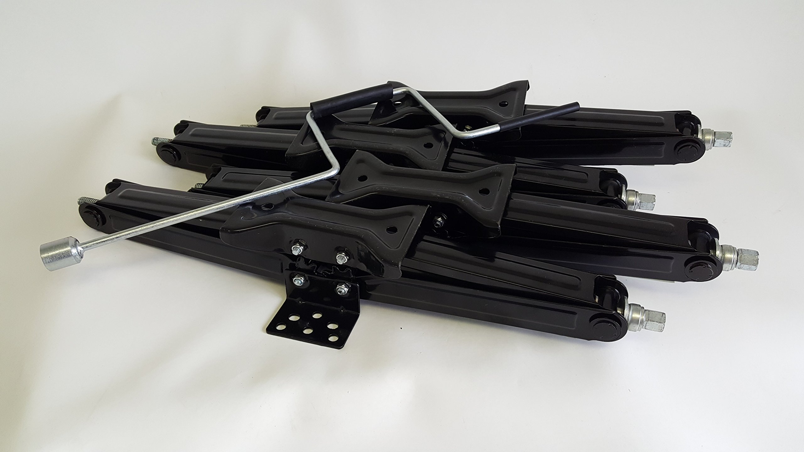 4 pack of 24'' 2,500# RV Trailer Camper Scissor Jacks w/ Crank Handle