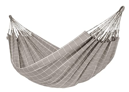 LA SIESTA Brisa Almond – Weather-Resistant Double Classic Hammock