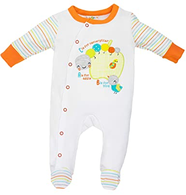 Lily /& Jack Baby Jungen Strampler Schlafanzug aus Nicki Dino