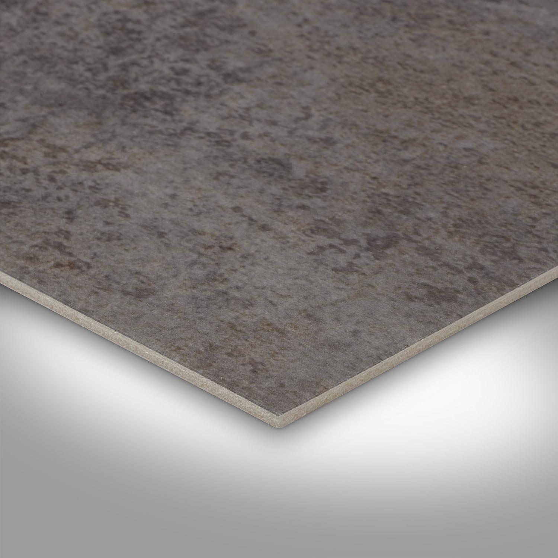 Fliesenoptik grau Vinylboden PVC Bodenbelag 300 und 400 cm Breite Variante: 3 x 3m Meterware 200