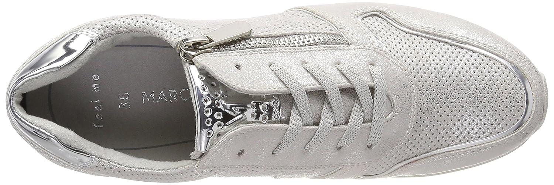 MARCO 23717 TOZZI Damen 23717 MARCO Sneaker, Silber (Silver Comb) 112cc1