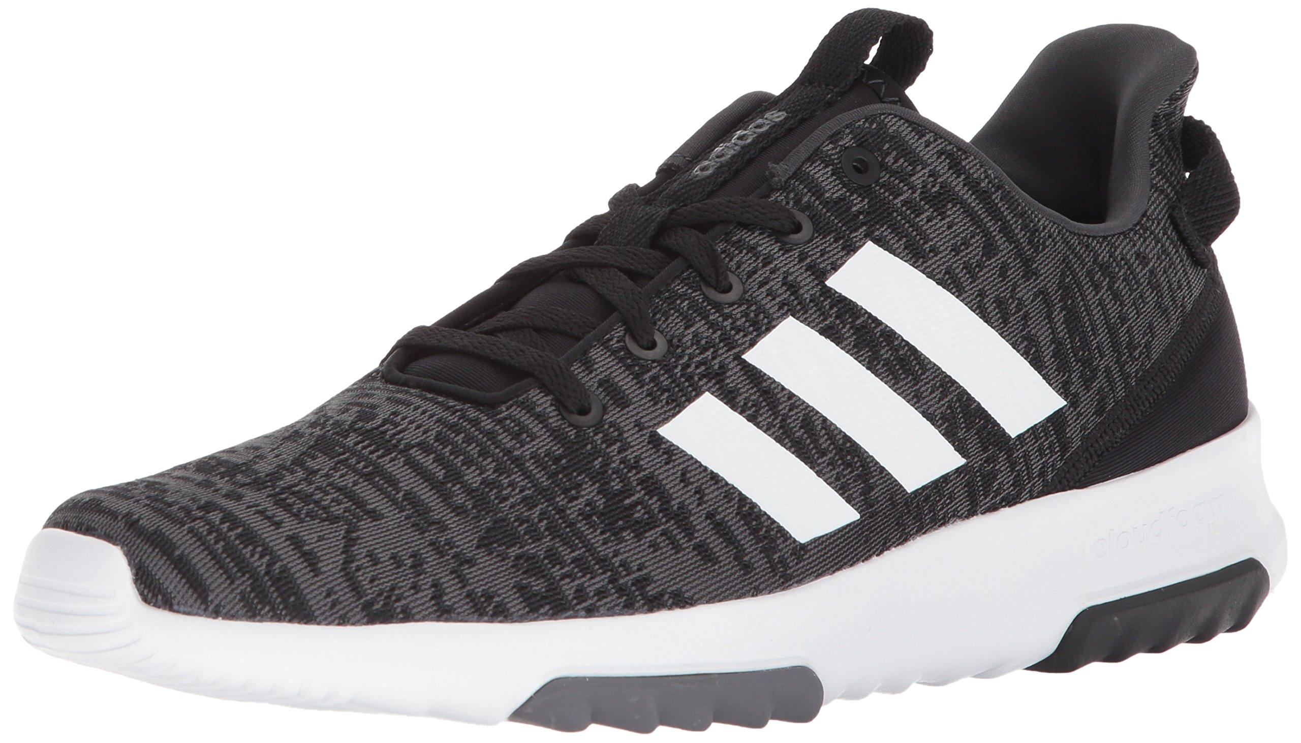 adidas Men's Cf Racer Tr, Core Black/White/Carbon, 9 M US