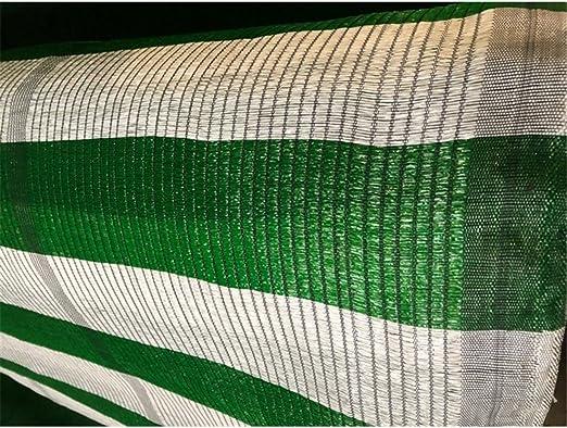 Jardin202 1,5 m. de Ancho - Malla de Ocultacion Bicolor - Rollo 100m Blanco y Verde: Amazon.es: Jardín