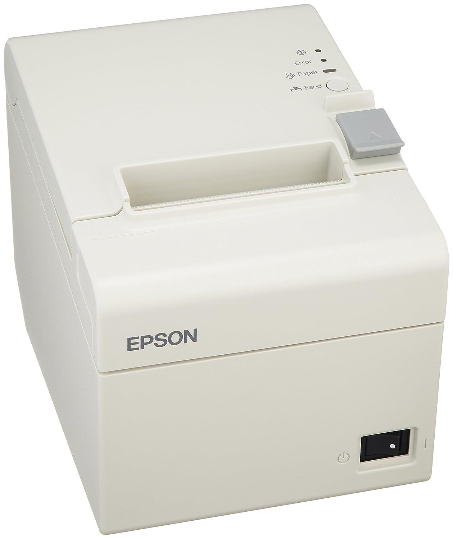 セイコーエプソン サーマルレシートプリンター/80mm58mm/Bluetooth/クールホワイト/電源同梱 TM202BI136   B00HEV23QW