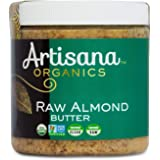Artisana Organics Non GMO Raw Almond Butter, 9 oz | No Sugar Added, Vegan Paleo and Keto Friendly
