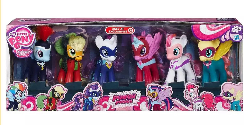 My Little Ponies Power Ponies Rarity Target Exclusive Hasbro