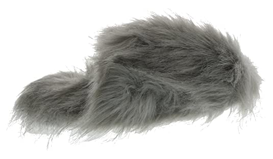20fe7adee24a Amazon.com | Ellen Tracy Women's Super Soft Faux Fur Mule Slippers |  Slippers
