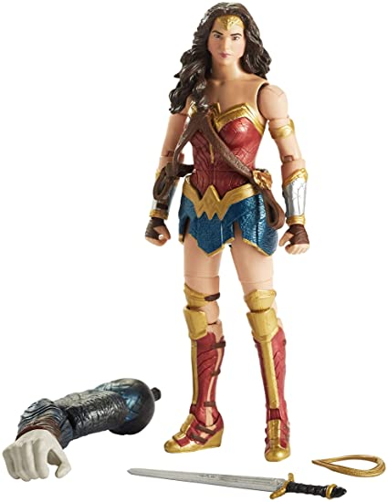 94a6219e612 Image Unavailable. Image not available for. Color  Mattel Multiverse  Justice League Wonder Woman Figure ...