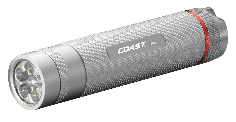 COAST Coast G45 - LED - G45 Linterna, color plateado 0b6def