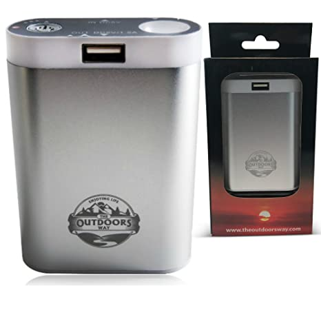 Amazon Com The Outdoors Way Electric Hand Warmer Rechargeable