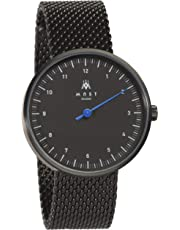 MAST MILANO BK107BK01-SS-UNO - Single-hand man watch ultra slim