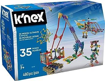 K'NEX 35 Model 480 Pieces Lego Set For Kids