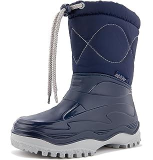Demar. De Mer. - Botas De Nieve Infantil, Color Azul, Talla 26/27 - Bottes De Neige Pour Enfants, Couleur Bleu, Taille 26/27