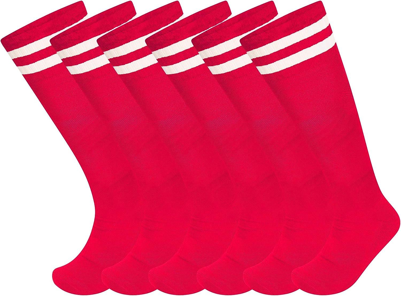 Mujeres Rugby f/útbol ni/ños y ni/ñas f/útbol Calcetines de Hockey para Hombres Hockey SOXY Paquete de 3 Calcetines Unisex para f/útbol