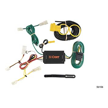 81hPgtUJK5L._SY355_ amazon com curt 56106 custom wiring harness automotive Trailer Wiring Harness at creativeand.co