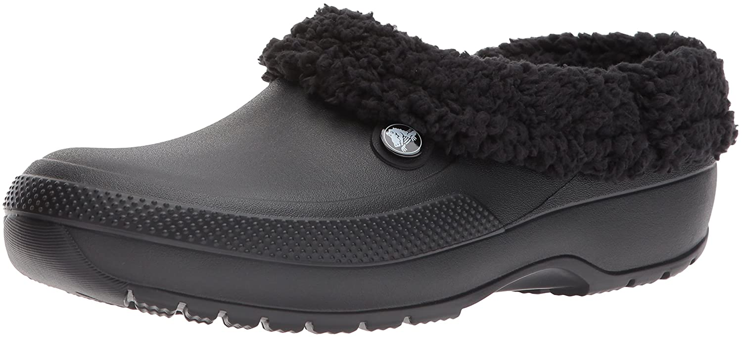Crocs Men's and Women's Blitzen III Clog | Indoor or Outdoor Warm and Fuzzy Shoe